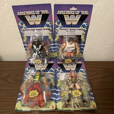 $139.99 • Buy NEW Masters Of The Universe WWE Wave 5 Savage, Piper, Steamboat, Lynch LOT OF 4