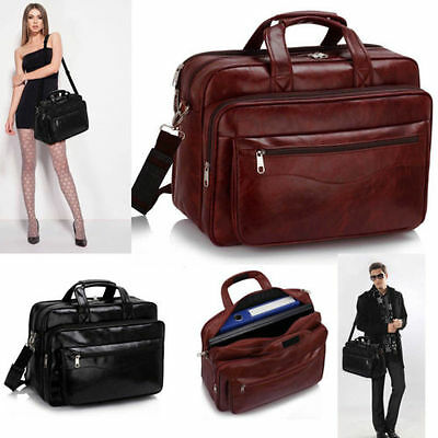 NEW Pilot Business Executive Briefcase Laptop Work Bag Shoulder Messenger Bags • 18.45£