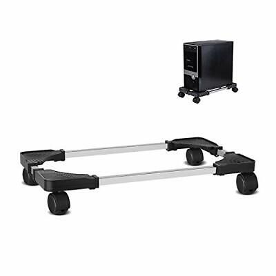 £21.63 • Buy  Mobile CPU Stand Adjustable Computer Tower Stand With 4 Caster Wheels Black