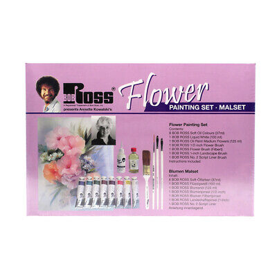 Bob Ross Flower Painting Set, New And Sealed, ONLY £75,  • 75£