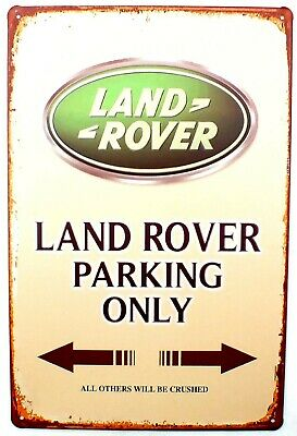 Land Rover Parking Only Discovery, Sport, Vogue Metal  / Tin Wall / Door Sign  • 4.45£