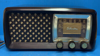 $ CDN112.91 • Buy Silvertone Bakelite Radio Sears And Roebuck Cat. No. 2015 Works- No Cracks Nice!