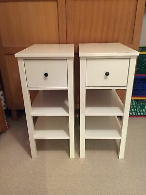 Bedside Tables/Cabinets, Ikea Hemnes Pair, With Draws And Shelves (x 2)  £49.99 • 49.99£