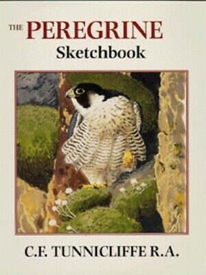 The Peregrine Sketchbook By C. F Tunnicliffe (Hardback) FREE Shipping, Save £s • 4.08£
