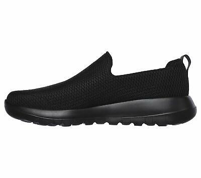 Skechers Mens Go Walk Max Fabric Closed Toe Slip On Shoes, Black, Size 8.0 RB4I • 16.81£