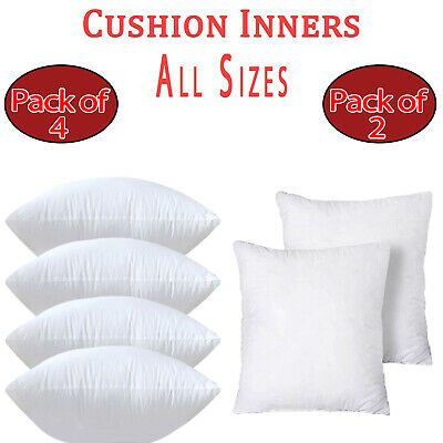 £6.67 • Buy Cushion Inserts Inners Pads NON-ALLERGENIC Fillers Scatters DEEP FILLED Pillows