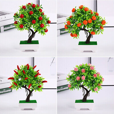 Simulated Artificial Pot Plant 23 Fruit Display Home Garden Wedding Decoration • 7.81£