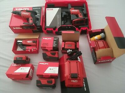£240 • Buy Hilti SD 5000-A22 (02) Drywall Screwdriver, Battery, Charger, SMD57 Magazine