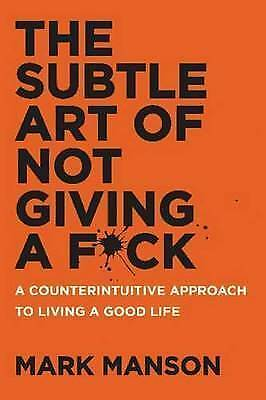 AU20.99 • Buy The Subtle Art Of Not Giving A F*ck: A Counterintuitive Approach To Living