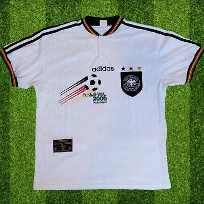 Retro Authentic Germany 1996 1998 Home Jersey Size Medium Excellent Condition  • 39.99£