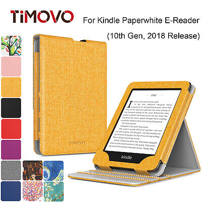 AU13.63 • Buy Smart Cover Vertical Flip Stand Case For Kindle Paperwhite E-Reader 10th Gen2018