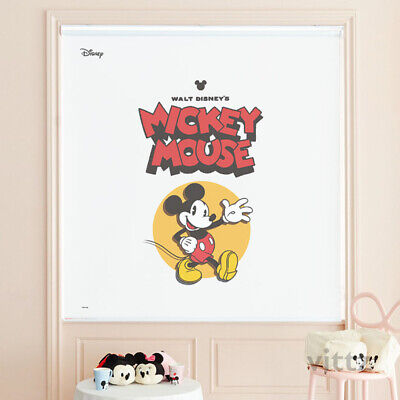 £141.96 • Buy Disney Mickey Mouse Window Roller Shades Kids Bedroom Blackout Curtain Blind