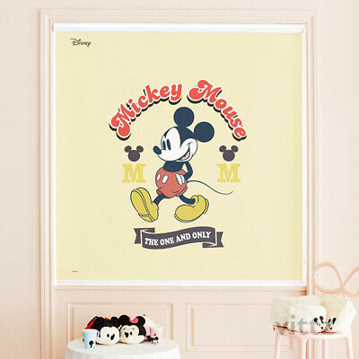 Disney Mickey Mouse Window Roller Shades Kids Bedroom Blackout Curtain Blind • 188.90£