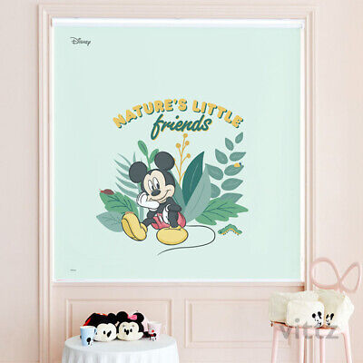Disney Mickey Minnie Mouse Window Roller Shades Bedroom Blackout Curtain Blind • 188.90£