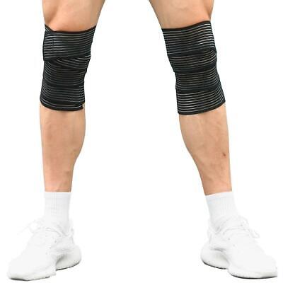 Outdoor Bandage Tape Sport Knee Support Strap Guard Compression Protector For • 9.88£