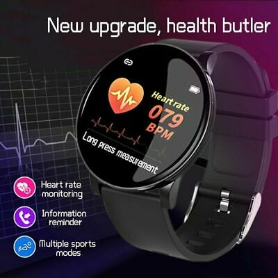 AU25.90 • Buy Smart Watch Women Men Heart Rate Fitness Traker Bracelet IP67 For IPhone Android