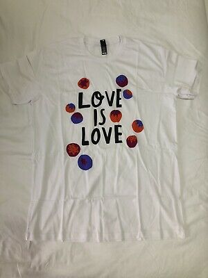 AU24.50 • Buy Gorman Love Is Love T-shirt Size L