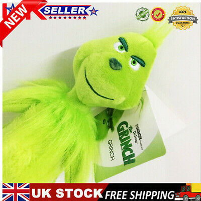 £6.88 • Buy 3pcs Grinch Plush Doll UK How The Grinch Stole Christmas Kids Stuffed Toys Gifts