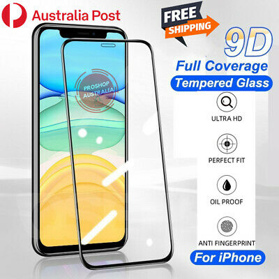 AU4.99 • Buy Tempered Glass Screen Protector For Apple IPhone 12 11 Pro Mini XS Max XR SE 7 8