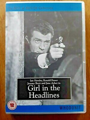 Girl In The Headlines DVD The Best Of British Collection. RARE DVD • 28.99£