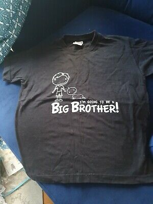 Im Going To Be A Big Brother T Shirt Age 5-6 • 0.99£