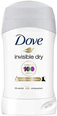 Dove Invisible Dry Deodorant Stick, Roll On Deodorant For Men And Women For A C • 2.74£