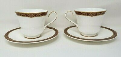 £15.99 • Buy Royal Doulton Tennyson H5249 2 X Tea Cup And Saucer VGC Second Quality