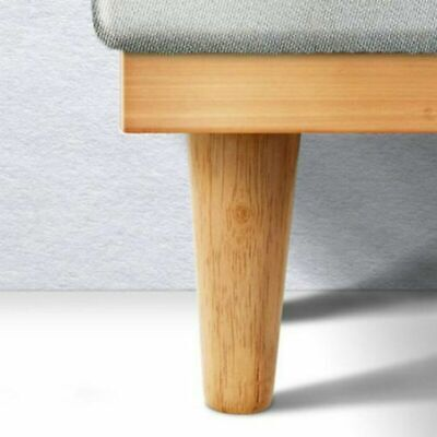 4Pcs/set 5  Wooden Furniture Leg Feet Chair Table Bed Cabinet Replacement Legs • 11.99£