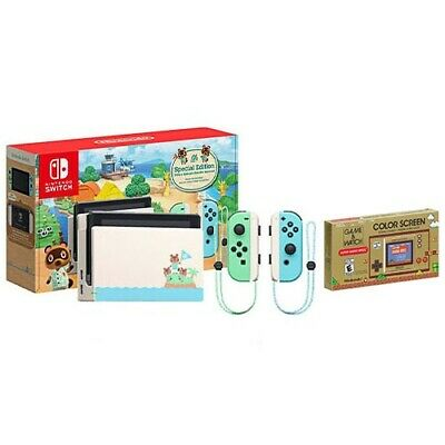 $ CDN461.52 • Buy Nintendo Switch Special Animal Crossing: New Horizons Edition + Game & Watch