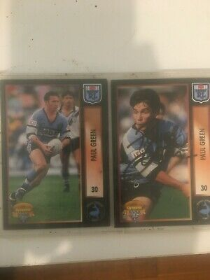 AU30 • Buy 1994 NSW Rugby League Correction Card No30 Series 1 Paul Green Hand Signed RARE