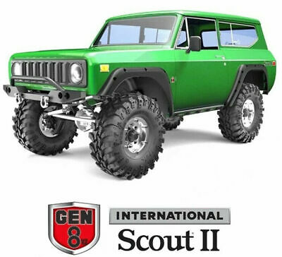 Redcat Racing GEN8 V2 Scout II 1/10 Scale Brushed Electric RC Crawler Green NEW • 215.05£