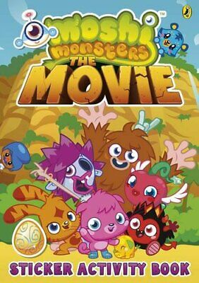 Moshi Monsters: The Movie Sticker Book Book The Cheap Fast Free Post • 8.49£