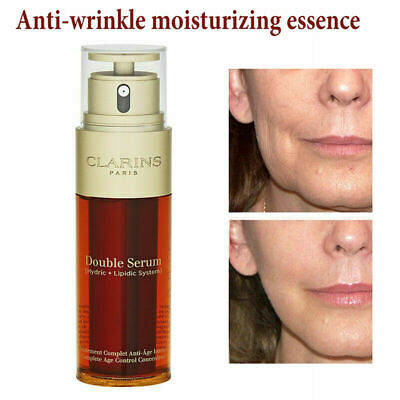 50ml Clarins Double Serum Complete Age Control Concentrate Firming Anti Aging UK • 11.99£