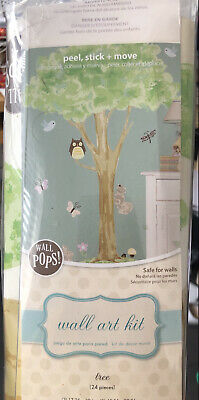 Tree Woodland Scene Wall Stickers For Childrens Room Or Nursery  • 9.50£