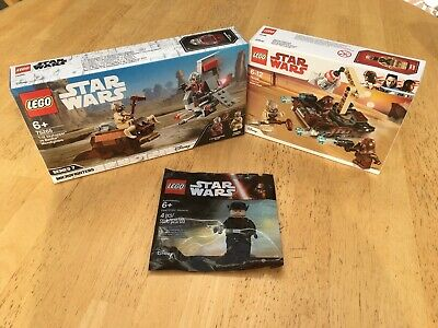 Lego Star Wars Bundle 75198 + 75265 + 5004406. Retired Sets. • 45£