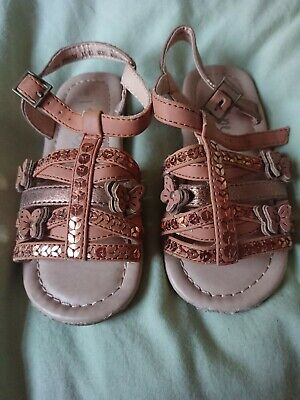 Girls Gladiator Style Sandals Size 8 From Next • 1.99£