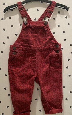 Next Girls Dungarees - Age 6-9 Months. Like Zara Style • 3.80£
