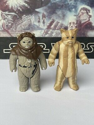 $ CDN3.54 • Buy Star Wars Vintage 1983 EWOKS !! CHIEF CHIRPA And LOGRAY