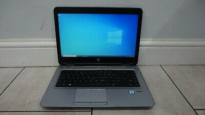 HP ProBook 640 G2 14  Laptop, Intel Core I5 @ 2.4GHz, 500GB SSD, 8GB RAM, WiFi • 146£