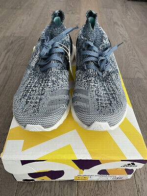 $ CDN120 • Buy Adidas Mens Ultra Boost Uncaged Parley Running Shoes Grey/Blue Mens Size 9