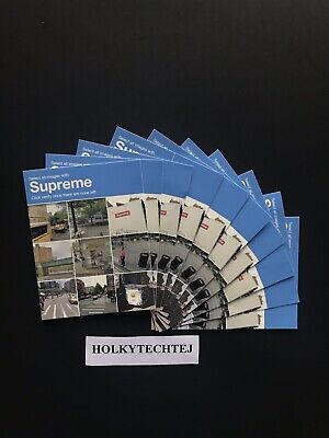 $ CDN37.75 • Buy 100% Authentic Supreme Verify Sticker Pack Lot (10 Stickers)