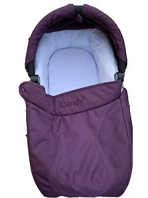 Icandy Cherry Carrycot: Purple • 7.40£
