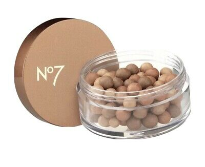 No7 Perfectly Bronzed - Face Bronzing Pearls 20g For Tanned Appearance New! • 9.99£