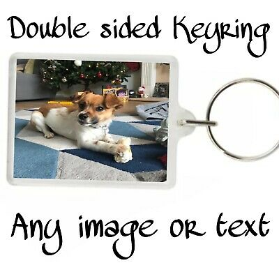 PERSONALISED Keyrings Great Birthday Or Easter Gift. HIGH QUALITY • 2.20£