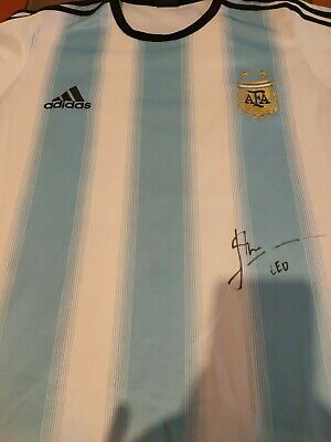 AU78.39 • Buy Messi Jersey Signed Match  FC Argentina