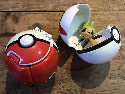Pokemon Throw N Pop Great Ball With Action Figure Toy And Fixed Ball • 0.99£