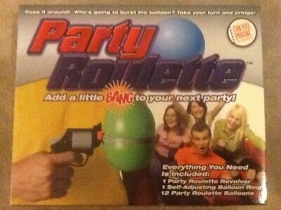 Funtime Party Russian Roulette Adult Balloon Popping Game • 5£