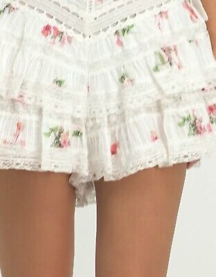 AU150 • Buy Zimmermann Heathers Pintuck Frill Shorts. Size 0. Only Worn Once