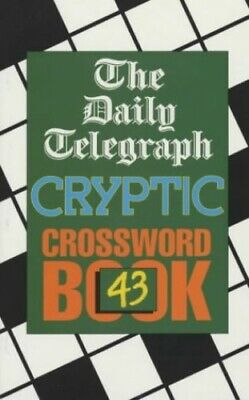 £5.99 • Buy Daily Telegraph Cryptic Crossword Book 43 By Telegraph Group Limited Paperback