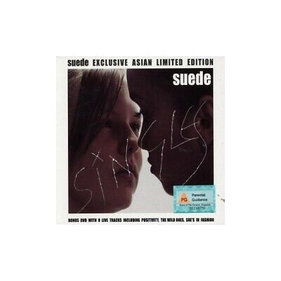 Suede - Singles [Exclusive Asian Limited Edition With Bonus DVD] - Suede CD 2YVG • 14.17£